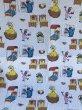 画像1: Flat Sheet Fabric(Sesame Street) (1)