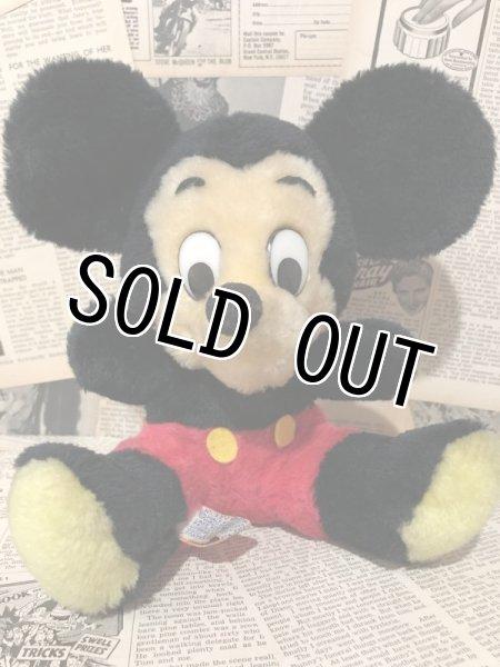 画像1: Mickey Mouse/Plush(70s/20cm) (1)
