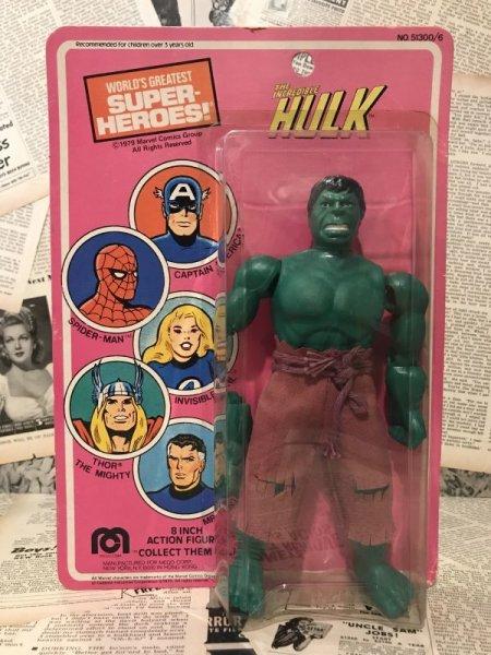 "画像1: Hulk/8"" Figure(70s/mego/MOC) (1)"