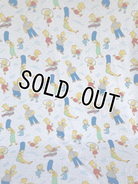 画像1: Flat Sheet Fabric(Simpsons) (1)