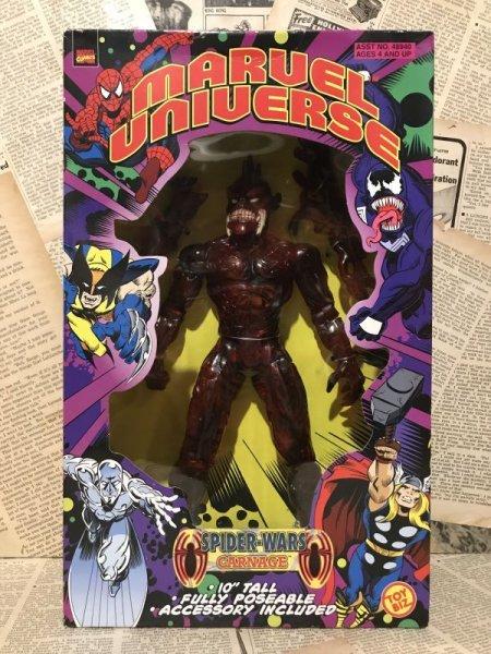 """画像1: Marvel Universe/10"""" Figure(Carnage/MIB) (1)"""